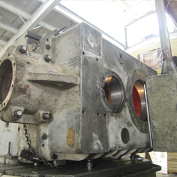 Repairing heavy gear boxes